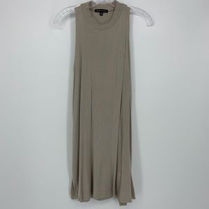 Kendall & Kylie Ribbed Sleeveless Dress Size Small